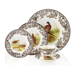 Spode Dinnerware, Woodland Bird Collection - These Woodland Bird plates by Spode have my heart. They mix beautifully with brown and cream tableware, linens and candles and will make any fall dinner a special occasion. I could definitely see a set of these becoming everyday dishes for the fall season.