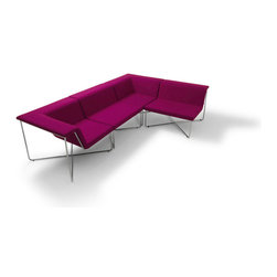 Pop Modular Two-Seater Sofa by B&T Design - Features: