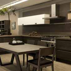 Contemporary Kitchen Cabinets by Florense USA