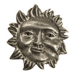 Anne at Home Hardware - Wavy Ray Sun - Just when you thought there was nothing new under the sun, you spot this beautifully crafted, hand-finished pewter knob. Each one will grace your cabinet doors or dresser drawers with a warm and lustrous finishing touch.