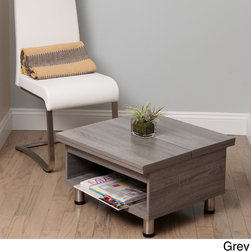 Matrix - Juno Functional Multi-Shape Coffee Table - Add a hip and functional element to your home with this funky multi-shape coffee table. Perfect for conforming to almost any space, this versatile table features ample storage and a modern appearance that is sure to catch to eye.