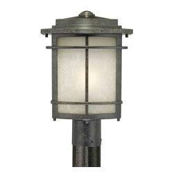 Quoizel Lighting - Quoizel GLN9010IB Galen Entrance Imperial Bronze Outdoor Post Light - 1, 150W A21 Medium