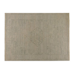 Uttermost - Malatya Beige Rug - Subtle details make this beautiful beige rug much more than monochromatic. Hand-knotted wool and exquisitely refined designs, make this floor covering a stylishly traditional choice for a remodel or rug renaissance in your home.