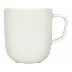 "Iittala - Sarjaton Mug, White - You don't care to have ""World's Greatest Whatever"" scrawled across your mug. All you want is sleek, classic style to hold your morning coffee. Well, now you've got it."