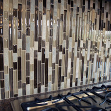 Traditional Tile by Aspen Homes Inc