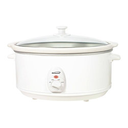 Brentwood - Brentwood SC-145W 6.5 qt. Slow Cooker Multicolor - SC-145W - Shop for Crock Pots and Slow Cookers from Hayneedle.com! About Brentwood Appliances Inc.With a product line spanning from coffee makers and can openers to Dutch ovens sauce pans and more Brentwood Appliances Inc. proudly offers an excellent selection of small appliances and cookware. Committed to keeping customers satisfied Brentwood Appliances focuses on providing best-quality best-priced products and top-notch customer service.