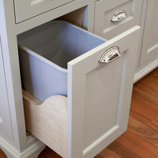 Traditional Kitchen Trash Cans by Rockwood Cabinetry