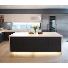 white modern kitchen island - Google leit