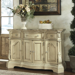 Signature Desgin by Ashley Ortanique White Dining Room Server -