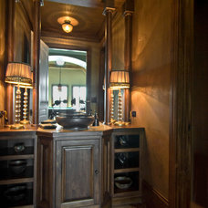 Traditional Powder Room by DCI Home Resource