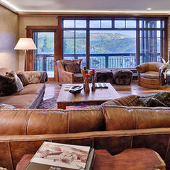 traditional living room by Gacek Design Group, Inc.
