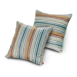 Missoni Home - Missoni Home | Quick Ship: Jenkins Gold Pillow 16x16 - Design by Rosita Missoni.