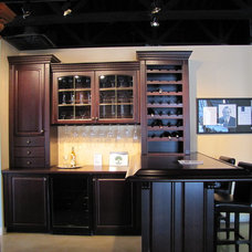 Traditional Wine Racks by Superior Cabinets