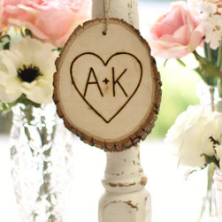 Personalized Ornament, Rustic Tree Slice Morgan Hill Designs - Personalized tree slice ornaments are a thoughtful gift or memento for the Christmas tree. I love their ecofriendly nature and the rustic look of the engraved message.