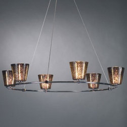 Bruck Lighting | V/A Chandelier II - Six Light -
