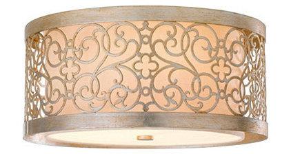 Mediterranean Flush-mount Ceiling Lighting by Ballard Designs