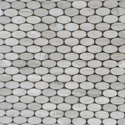 """GL Stone - Wooden Grey Pebble Mosaic Tile ( 1 Carton/ 15 Sheets ) - This gorgeous wooden grey tile come in polished finish which gives it a completely flat walking surface which is why many people love to use this tile as flooring or in shower pans. Sliced wooden grey pebble tile has that perfect natural pebble look with a completely flat surface which will give an updated gorgeous earthy feel to any space. Usage: Shower floor, bathroom floor, general flooring, backsplashes, swimming pools, patios, kitchen and more. Interior & exterior. Commercial & residential. Details: Sheet Backing: Mesh Sheet Dimensions: 12""""  x 12"""""""
