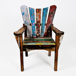 Reclaimed Wood Chairs - ecologica home