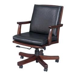 Stickley Mid-Back Executive Swivel Tilt Chair Cl-8803-ST -