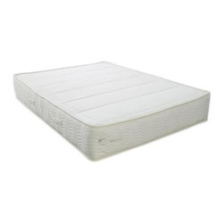 Keetsa - The Keetsa Latex - iCoil Mattress with Latex - Choose Size: Queen9-Inch latex coil. iCoil mattress with all natural latex layer. iCoils are independent coils that support every part of your body with the perfect amount of supple and responsive flex. Latex 9 in. mattress has independent coils which support every part of the body with responsive flex. Natural latex layer accepts your body instantly, providing firm and comfortable support. Latex quality is certified by ECO Institute. The certification shows the purity of the latex based on testing for harmful content and emissions. Unbleached and breathable 100% organic cotton cover quilted with wool padding that creates natural fire barrier. No chemical FR agent is used on this mattress. Durability tested exceed industrial standards. Complies with the Federal fire safety standard of 16CFR1633. Free of PBDEs. Certified organic cotton cover.. Twin: 75 in. L x 39 in. W. Full: 75 in. L x 54 in. W. Queen: 80 in. L x 60 in. W. King: 80 in. L x 76 in. WNo. of iCoil Count. Twin: 450. Full: 630. Queen: 768. King: 960Simply natural. Supple & responsive. Keetsa Mattresses are world-class quality with affordable prices because of the unique packaging that enables us to reduce the freight costs. This innovative packaging also helps to substantially reduce the carbon foot print.