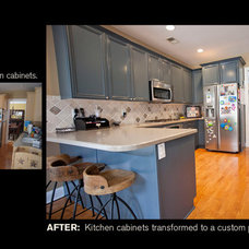 Eclectic  by Creative Cabinets and Faux Finishes. LLC