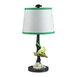 Dimond Lighting - 112-1107-LED Bruce Table Lamp, Gloss - Children's Theme Table Lamp in Gloss from the Bruce Collection by Dimond Lighting.