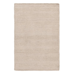 Surya - Hand Loomed Bahama Wool Rug BAH-4100 - 9' x 13' - For the minimalist, this solid tone on tone stripe piece will be the perfect accent. The plush high/low pile offers subtle dimension to the rug, while adding class and sophistication to any room. Available in four colors, this 1% wool rug is loomed in India.
