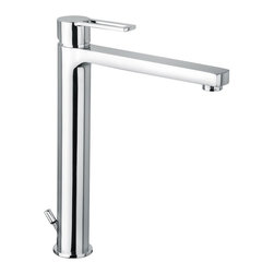 WS Bath Collections - WS Bath Collections Ringo Single Lever High Spout Washbasin Mixer - Features:
