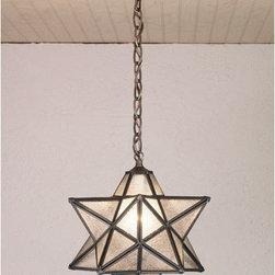 Meyda - 12 Inch Width Moravian Star Pendant Ceiling Fixture - Color theme: Zasdy
