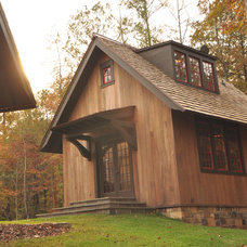 Rustic Exterior by Dungan Nequette Architects