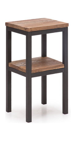 ZUO ERA - Harkness Side Table Distressed Natural - Harkness Side Table Distressed Natural