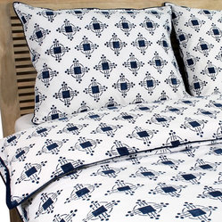 Thomas Nautical Blue Duvet Cover