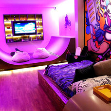 skateboard teen room