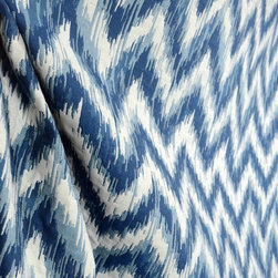 Barrow - M9635 Aegean Flame Stitch Chevron Matelassse Blue Upholstery Fabric By The Yard - Barrow fabric M9635 in the color Aegean is a flame stitch chevron matelasse fabric. Has aa padded raisied look and feel. Great upholstery fabric that also can be used for bedding, pillows and window treatments.