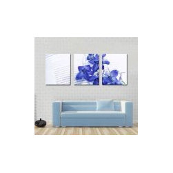 Blue Flower Canvas Prints - Blue Flower Canvas Prints Decor home and office with new products and new style by canvas prints and give eye catching look to your home.