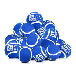Waggo - Play Balls, Blue, Pack of 15 - What pup doesn't love a classic game of fetch? Our Play Balls are perfect for a romp around the park, or a bounce across the living room. Made from rubber and felt, our 15 pack of balls will keep your pup's games colorful and fun for many playtimes to come!