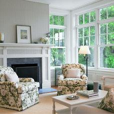 Traditional Living Room by Susan Reddick Design, Inc.