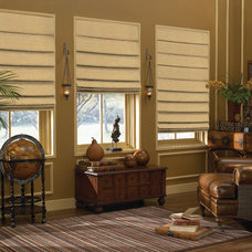 Traditional Roman Shades by Blindsgalore