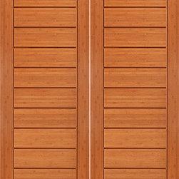 """BM-2 Metro Interior Flush Panel Grooved Panel Modern Double Door - SKU#BM-2-2BrandAAWDoor TypeInteriorManufacturer CollectionInterior Bamboo DoorsDoor ModelDoor MaterialWoodWoodgrainBambooVeneerPrice1380Door Size Options2(30"""") x 80"""" (5'-0"""" x 6'-8"""")  $02(32"""") x 80"""" (5'-4"""" x 6'-8"""")  +$202(36"""") x 80"""" (6'-0"""" x 6'-8"""")  +$602(30"""") x 96"""" (5'-0"""" x 8'-0"""")  +$1402(32"""") x 96"""" (5'-4"""" x 8'-0"""")  +$1602(36"""") x 96"""" (6'-0"""" x 8'-0"""")  +$200Core TypeSolidDoor StyleModernDoor Lite StyleDoor Panel StyleFlush Panel , Grooved PanelHome Style MatchingContemporaryDoor ConstructionSolid BambooPrehanging OptionsPrehung , SlabPrehung ConfigurationDouble DoorDoor Thickness (Inches)1 3/8 , 1 3/4Glass Thickness (Inches)Glass TypeGlass CamingGlass FeaturesGlass StyleGlass TextureGlass ObscurityDoor FeaturesDoor ApprovalsFSCDoor FinishesDoor AccessoriesWeight (lbs)620Crating Size25"""" (w)x 108"""" (l)x 52"""" (h)Lead TimeSlab Doors: 7 daysPrehung:14 daysPrefinished, PreHung:21 daysWarranty1 Year Limited Manufacturer WarrantyHere you can download warranty PDF document."""
