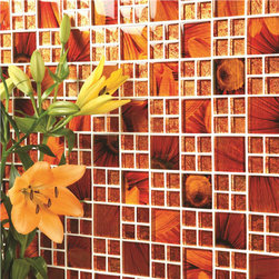 Mosaic Glass Tiles - Feng Shui glass mosiac tiles in various sizes.