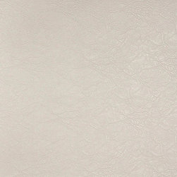 White Leather Grain Upholstery Faux Leather By The Yard - This faux leather material is great for all indoor upholstery applications including residential and commercial. This pattern is uniquely made to combine luxury with durability. Our faux leathers are stain resistant, and easy to clean with mild soap and water.