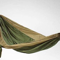 Fifthroom - Portland Portable Parachute Hammock - When you open our Portland Parachute Hammock, you'll get the incomparably delightful sensation of freefalling.  With its construction of soft, yet amazingly strong, nylon silk, it will give you a cushy landing on a cloud of comfort.  Because it has a weight capacity of 400 pounds, you can even take a tandem dive, if you wish.  At the same time, the hammock itself weighs less than a pound, and comes with a storage pouch attached, so you can relax on Cloud Nine wherever you go.