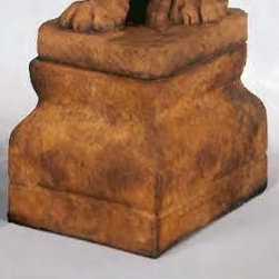 7210 Lion Statue Base - From grand goddesses to small creatures, Henri has the statue or you,. With exquisite textures, poses and expressions, you can choose the design that will make a personal statement in your yard or garden.