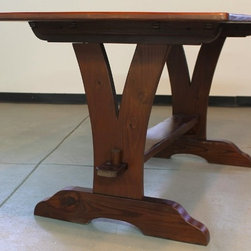 Reclaimed Wood Table - Reclaimed Wood Tables are classic , family durable tables. These tables can be customized to look sleek or rustic but always are casually elegant. All sizes and colors possible. www.lakeandmountainhome.com. 978-505-3222