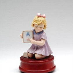 "CG - 6.63 Inch Teacher Statue Young Girl Holding Sign with Grade ""A"" - This gorgeous 6.63 Inch Teacher Statue Young Girl Holding Sign with Grade ""A"" has the finest details and highest quality you will find anywhere! 6.63 Inch Teacher Statue Young Girl Holding Sign with Grade ""A"" is truly remarkable."