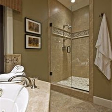 Contemporary Bathroom by Marcia Nease with Baer's Furniture