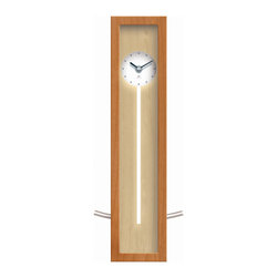 Infinity Instruments, Ltd. - Infinity Instruments High Rise Wall/Tabletop Clock, Natural - Infinity Instruments High Rise has been in the Infinity line for over 15 years. It has become part of the Infinity Signature series. This modern / contemporary designed wall / tabletop clock has a clean look that is prefect for any décor.