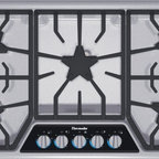 "Thermador Masterpiece Deluxe 36"" Gas Cooktop, Stainless Steel 