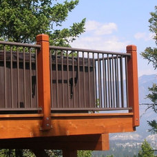 Modern Outdoor Products by Century Aluminum Railings