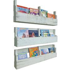 Rustic Wall Shelves by (del)Hutson Designs